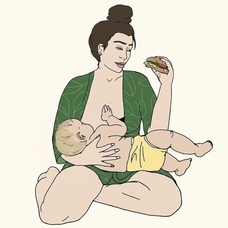 nutrition for breastfeeding