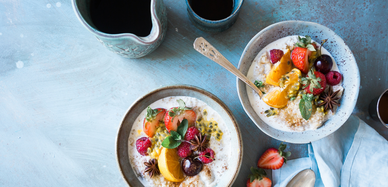 quinoa porridge for breakfast